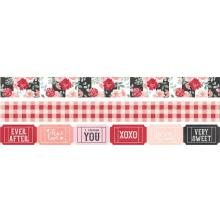 Simple Stories Washi Tape 3/Pkg - Kissing Booth