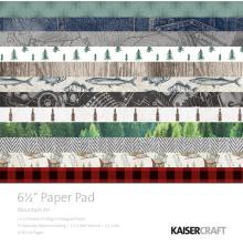 Kaisercraft Paper Pad 6.5X6.5 40/Pkg - Mountain Air