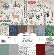 Kaisercraft Paper Pack 12X12 12/Pkg - Mountain Air