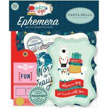 Carta Bella Pack Your Bags Ephemera Cardstock Die-Cuts 33/Pkg - Icons