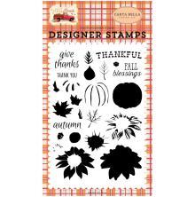 Carta Bella Stamps - Thankful