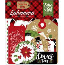 Echo Park Celebrate Christmas Cardstock Die-Cuts 33/Pkg - Icons