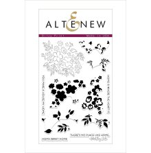 Altenew Clear Stamps 4X6 - Ditsy Print