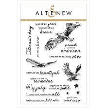Altenew Clear Stamps 6X8 - Land of the Free