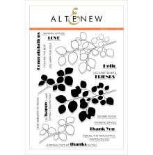 Altenew Clear Stamps 6X8 - Leaf Canopy