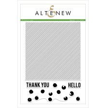 Altenew Clear Stamps 6X8 - Pinstripe