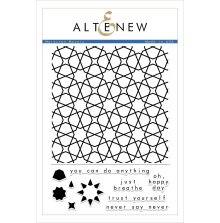 Altenew Clear Stamps 6X8 - Moroccan Mosaic