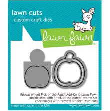 Lawn Fawn Custom Craft Die - Reveal Wheel Pick Of The Patch Add-On