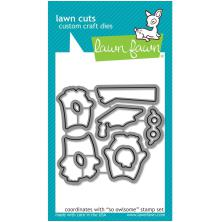 Lawn Fawn Custom Craft Die - So Owlsome