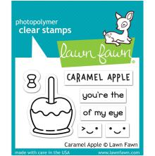 Lawn Fawn Clear Stamps 3X2 - Caramel Apple