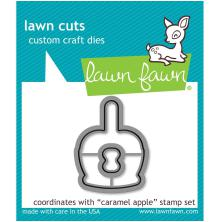 Lawn Fawn Custom Craft Die - Caramel Apple