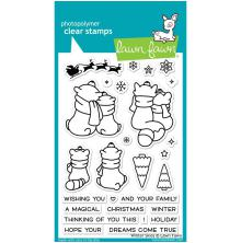 Lawn Fawn Clear Stamps 4X6 - Winter Skies