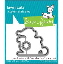 Lawn Fawn Custom Craft Die - Oh What Fun
