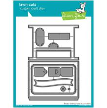 Lawn Fawn Custom Craft Die - Double Slider Surprise