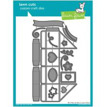 Lawn Fawn Custom Craft Die - Mini Pop-Up Box