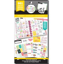 Me & My Big Ideas Happy Planner Sticker Value Pack - Get it Done Student