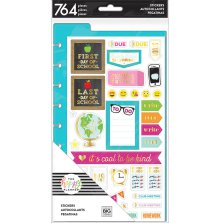Me & My Big Ideas Happy Planner Dashboard Stickers - Student