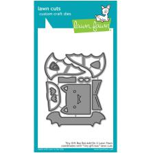 Lawn Fawn Custom Craft Die - Tiny Gift Box Bat Add-On