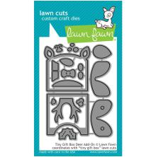 Lawn Fawn Custom Craft Die - Tiny Gift Box Deer Add-On