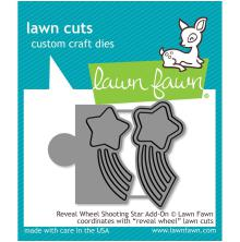 Lawn Fawn Custom Craft Die - Reveal Wheel Shooting Star Add-On