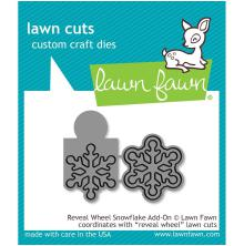 Lawn Fawn Custom Craft Die - Reveal Wheel Snowflake Add-On