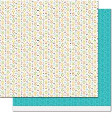 Lawn Fawn Knit Picky Fall Double-Sided Cardstock 12X12 - Table Runner