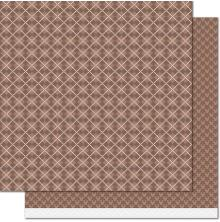 Lawn Fawn Knit Picky Fall Double-Sided Cardstock 12X12 - Sweater Vest