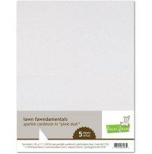 Lawn Fawn Sparkle Cardstock - Pixie Dust
