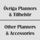 Övriga Planners & Tillbehör