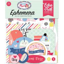 Echo Park I Am Mom Cardstock Die-Cuts 33/Pkg - Icons
