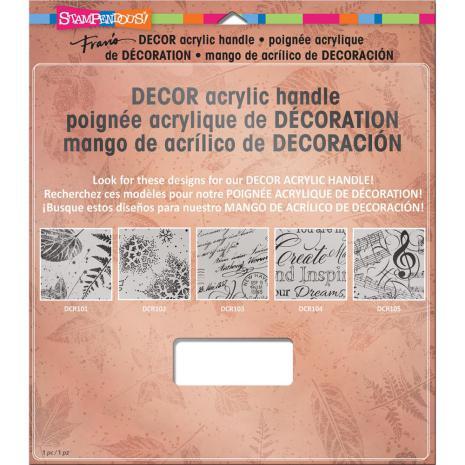 Stampendous Stamp Block Handle 8X8