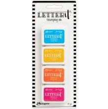 Ranger Letter It Stamping Ink - Set 3