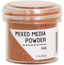 Ranger Mixed Media Powders - Fire