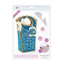 Tonic Studios Crochet Lace Gift Bag Die Set - 2120E