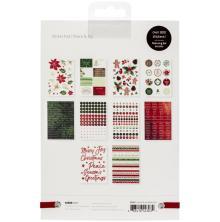 Kaisercraft Sticker Pad 800/Pkg - Peace & Joy