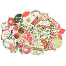 Kaisercraft Collectables Cardstock Die-Cuts - Peace & Joy
