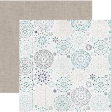 Kaisercraft Wonderland Double-Sided Cardstock 12X12 - Snowfall