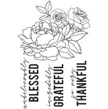 Kaisercraft Clear Stamps 6X4 - Peachy