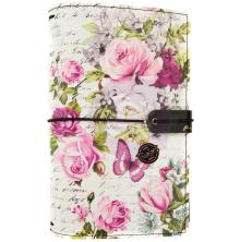 Prima Travelers Journal Personal Size 5X7.5 - Misty Rose