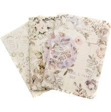 Prima Travelers Passport Notebook Inserts - Lavender Frost