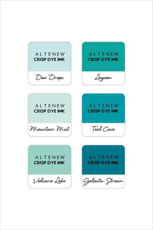 Altenew Dye Inks - Cerulean Skies