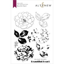 Altenew Clear Stamps 6X8 - Beautiful Heart