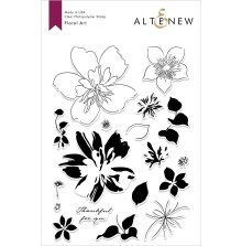 Altenew Clear Stamps 6X8 - Floral Art