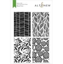 Altenew Clear Stamps 6X8 - Block Print