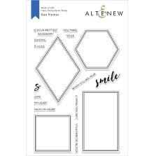 Altenew Clear Stamps 6X8 - Geo Frames