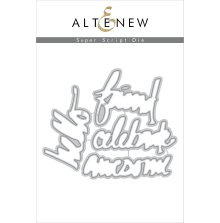 Altenew Die Set - Super Script