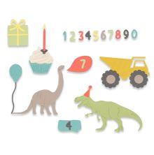 Sizzix Framelits Die Set 15PK - Birthday Boy