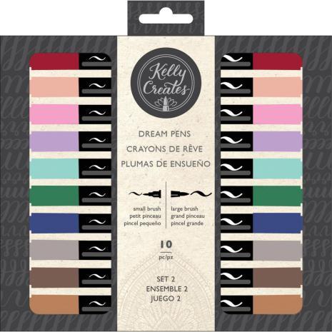Kelly Creates Dream Pens 10/Pkg - Meadow