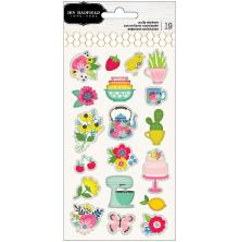 Jen Hadfield Puffy Stickers - My Bright Life Icons