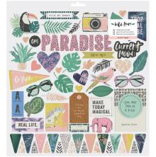 Crate Paper Chipboard Stickers 12X12 - Wild Heart